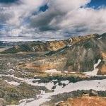 kolorowe góry na Islandii w całej okazałości