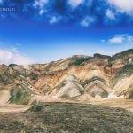 panorama górska na islandii