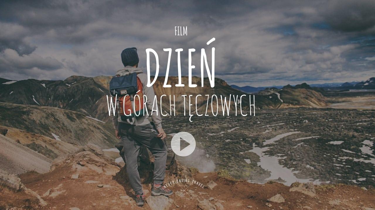 okładka do filmu o górach landmannnalaugar na Islandii