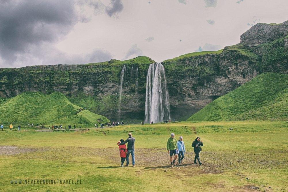Seljalandsfoss wodospad na islandii