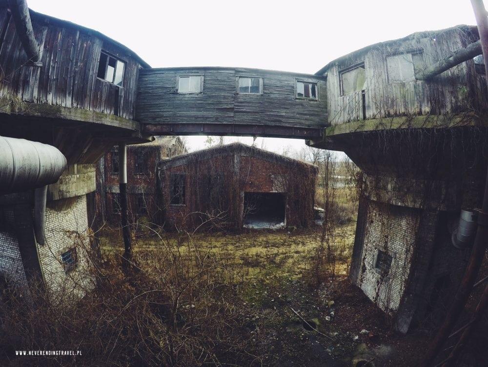 opuszczona fabryka Warszawskie Zakłady Papiernicze, Konstancin-Jeziorna