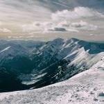 panorama tatr zimowa panorama