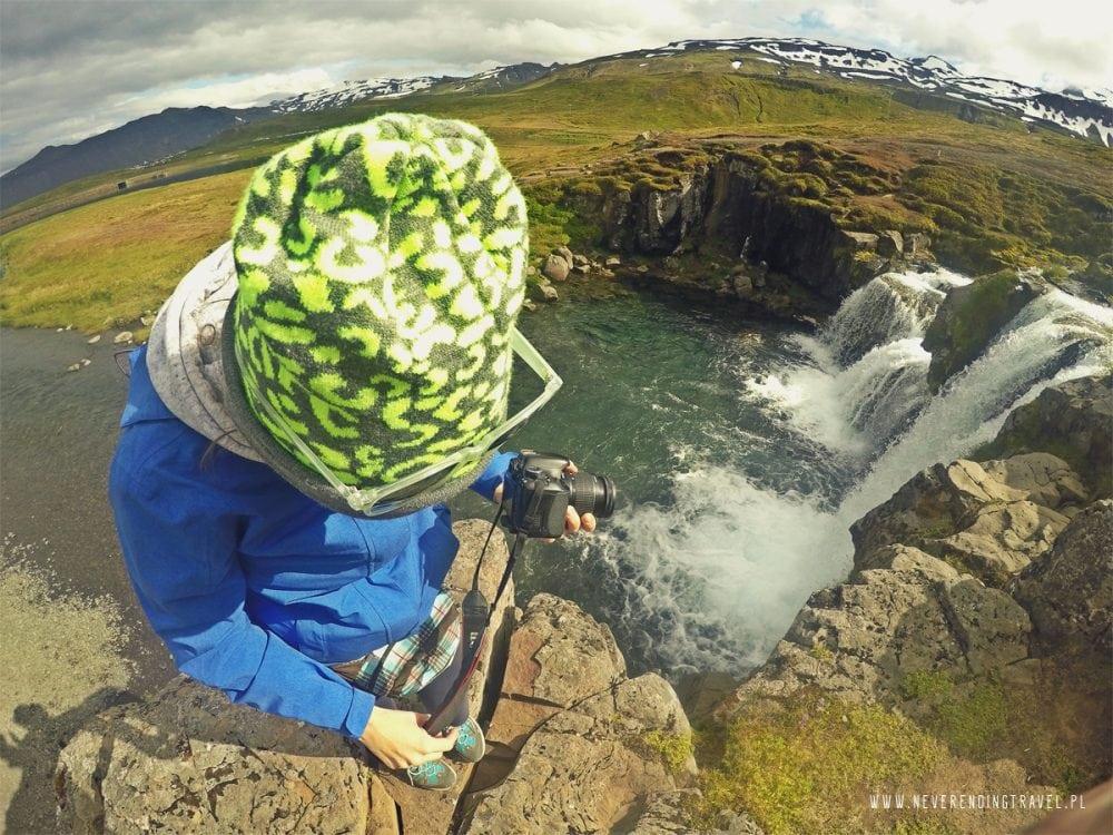 Kirkjufellfoss na islandii