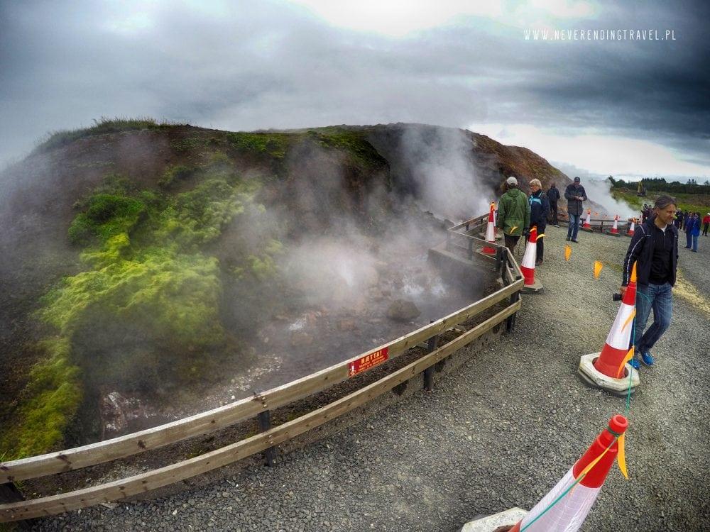 Deildartunguhver gorące źródła na islandii