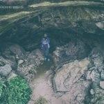 jaskinia na trasie do wodospadu Glymur
