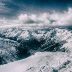 tatry zachodnie zimą, panorama, ośnieżone szczyty, tatrzańska zima, słoneczny dzień