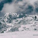 zimowe podejście na świnicę w tatrach, poslkie góry zimą, szczyt świnicy