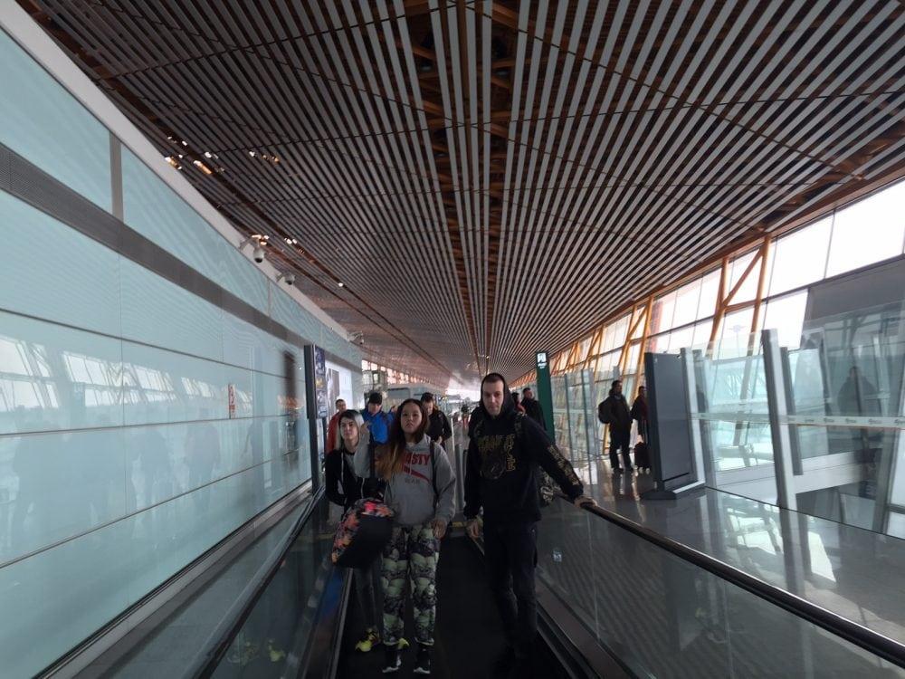 lotnisko w pekinie