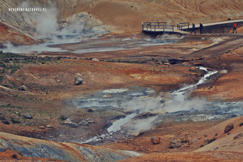 Seltún pole geotermalne