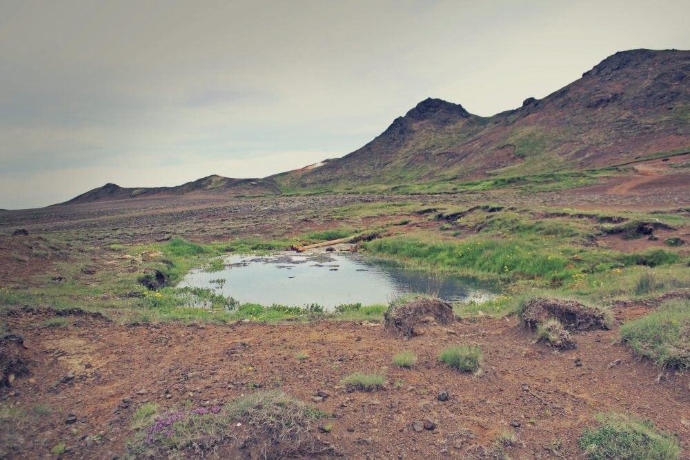 Skátalaug hotpot, islandia gorące żródło