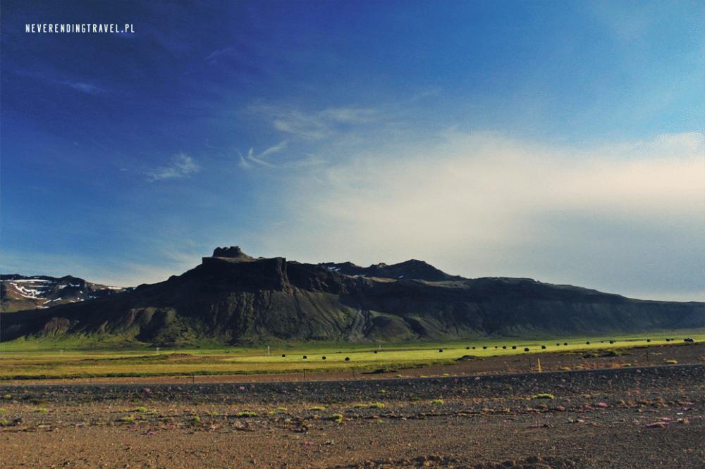 islandia góry, miejsce biwaku