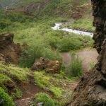 szlak do wodospadu Glymur na Islandii