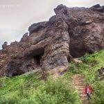 szlak pieszy do Glymur na Islandii