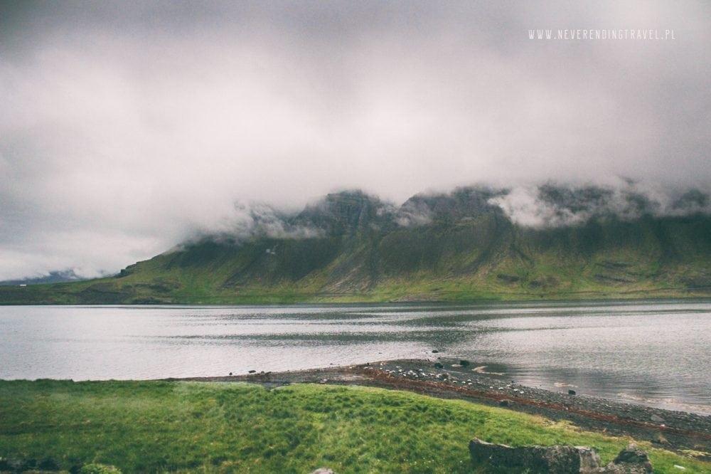 islandzki fiord, Islandia, góry, iceland, mountain in iceland