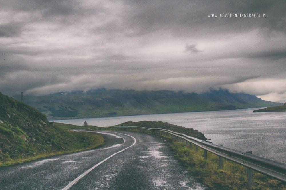 droga na Islandii, way on Iceland