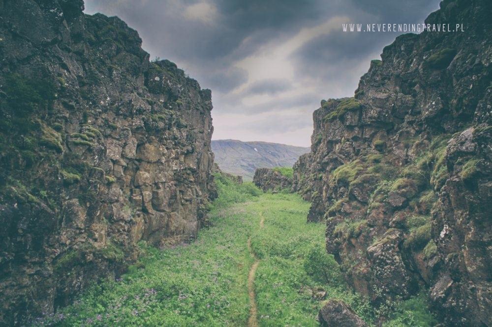 Park Narodowy Thingvellir na islandii Iceland,