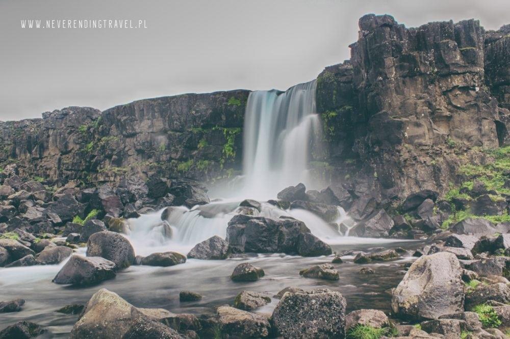 Park Narodowy Thingvellir Öxarárfoss, Parque Nacional de Þingvellir