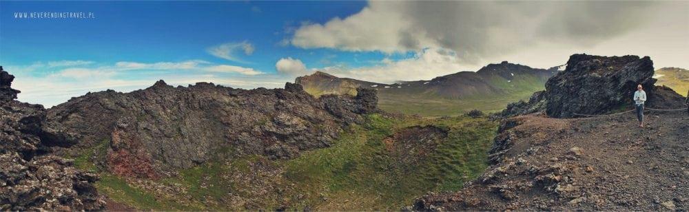 wulkan saxholl panorama