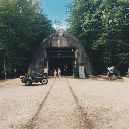 bunkier w Konewce