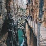 ścieżka-w-El Caminito del Rey-neverendingtravel.pl