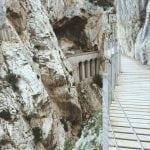 El Caminito del Rey-wiadukt-kolejowy-widok-z-kładki-neverendingtravel.pl