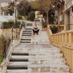lista nieznanych miejsc w Atenach Piano-Steps-schody-pianino-w-Atenach-neverendingtravel.pl