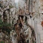kanion-i-drewniane-kładki-El Caminito del Rey_neverendingtravel