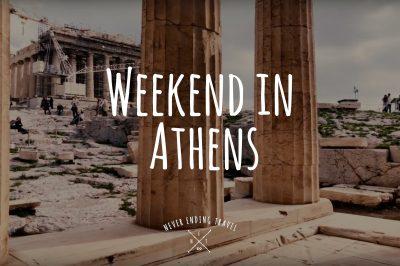 weekend w atenach, nasz film z wypadu do stolicy grecji