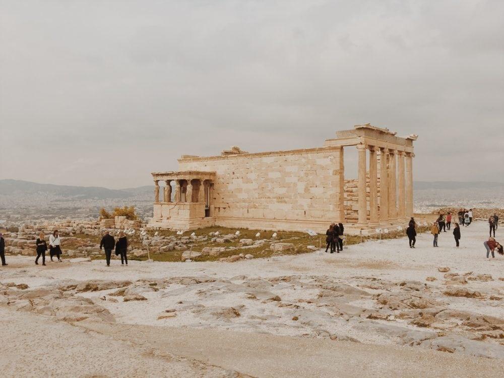 erechtejon-ateny-neverendingtravel.pl Akropol i ruiny budowli