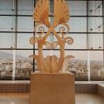 nowe-muzeum-akropolu-ateny-neverendingtravel.pl szklane ściany, rzeźba w muzeum, Akropol