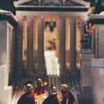 lego-Ateny-neverendingtravel.pl wystawa z lego w muzeum akropolu, weekend w Atenach