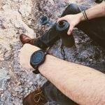 woda-w-bidonie zegarek samsung gear i buty od sperry