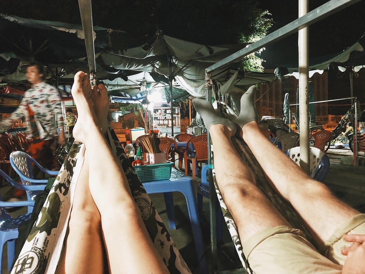 hamak w wietnamie, port rach gia, neverendingtravel.pl, w drodze na phu quoc