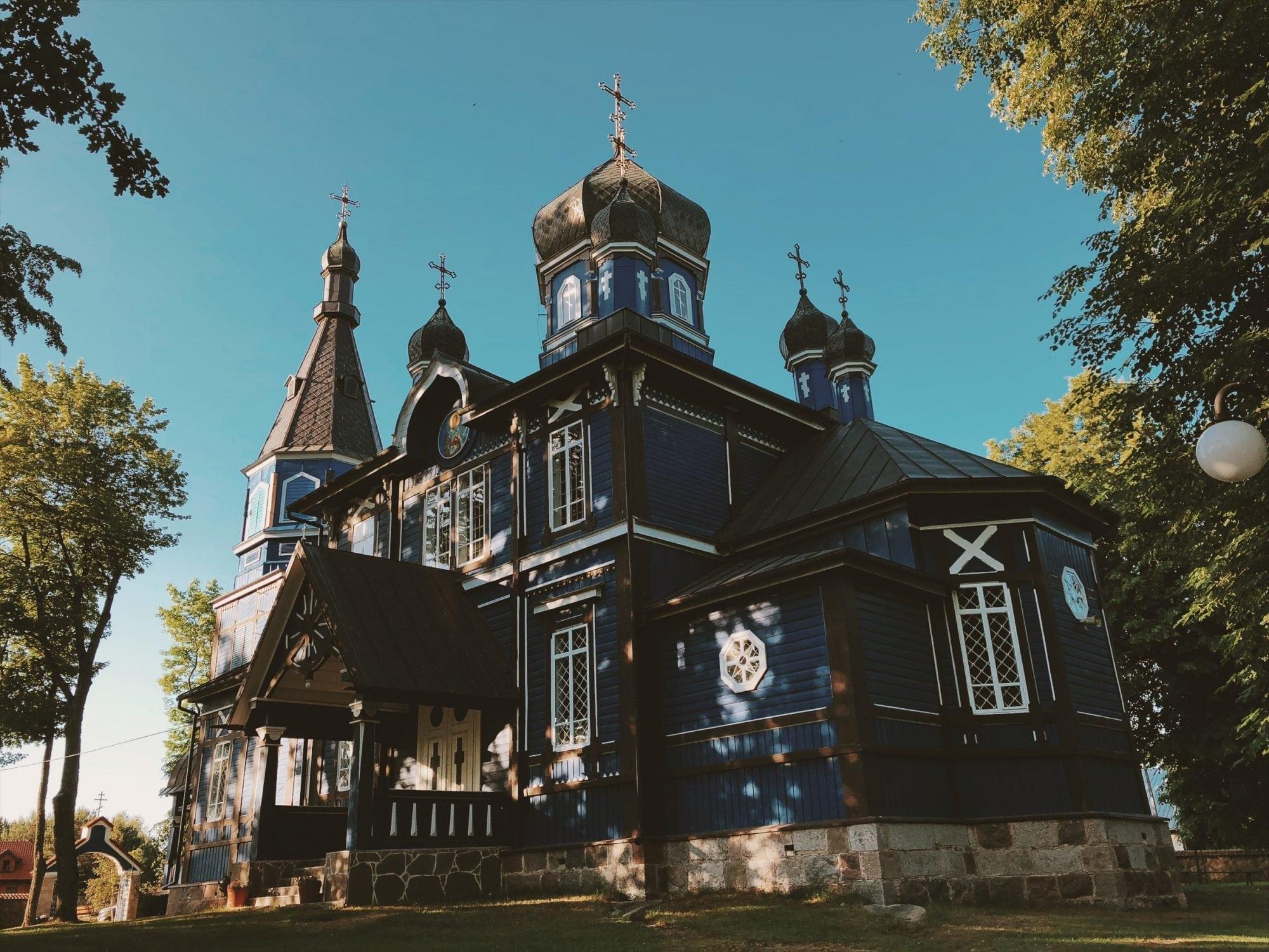 cerkiew w puchlach wnetrze podlaskie neverendingtravel.pl