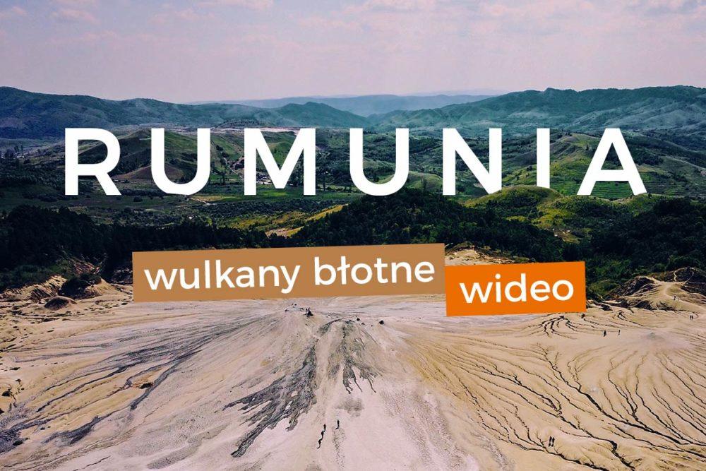 ciekawe miejsca rumunia lot dronem video rumunia wulkany błotne dron góry przyroda podróż neverendingtravel.pl