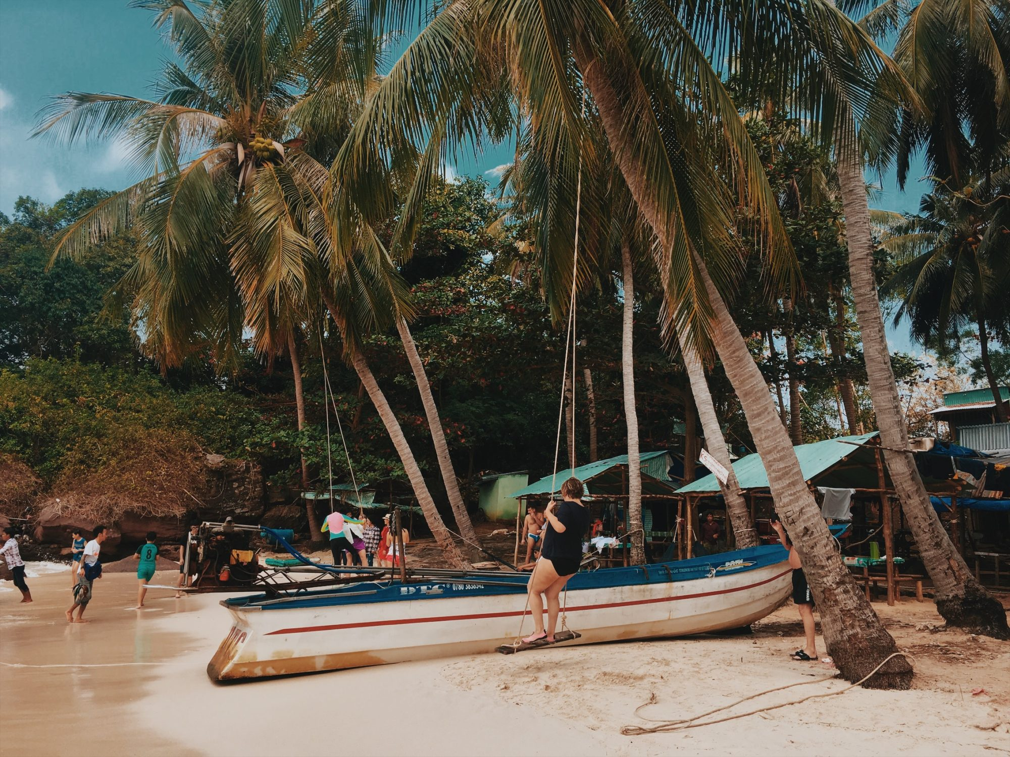 rajska plaża na fingernail island an thoi plaze w wietnamie neverendingtravel.pl