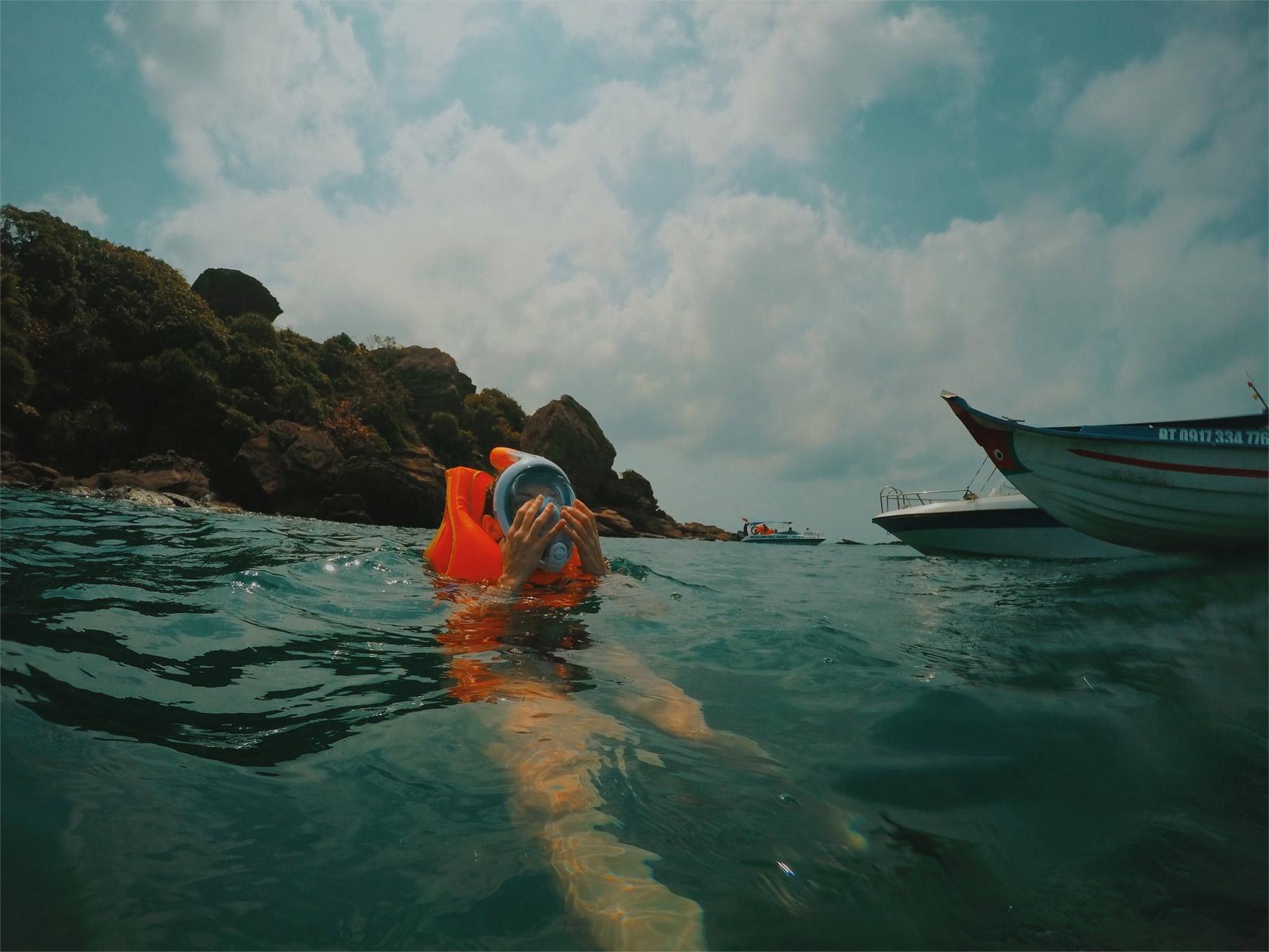 snurkowanie w an thoi plaze w wietnamie neverendingtravel.pl