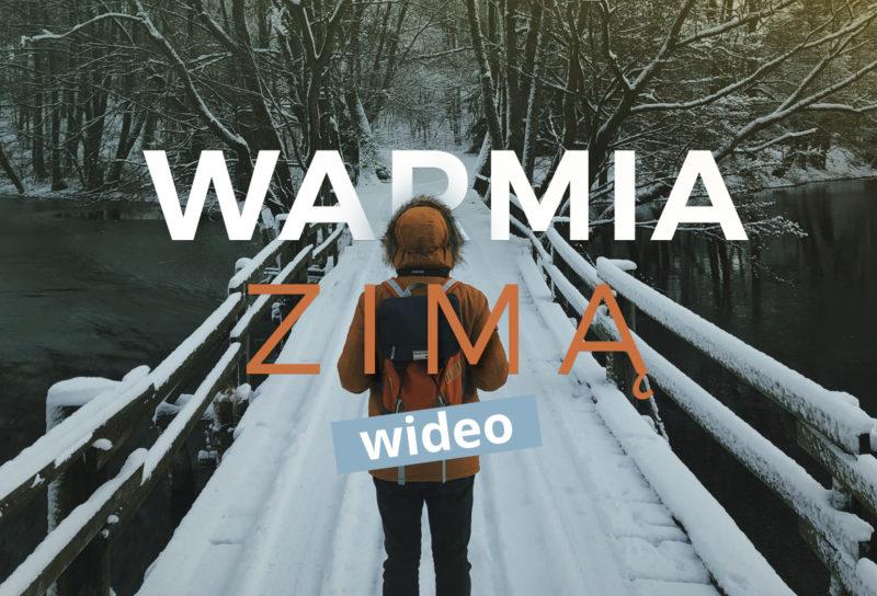 ciekawe miejsca poland lot dronem video polska warmia dron biskupiec przyroda podróż neverendingtravel.pl