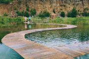 jaworzno staw grodek wydra pomosty turkusowa woda atrakcje śląsk ciekawe miejsca katowice woda