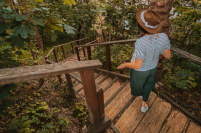 wyszogród na jeden dzień z warszwy wycieczka na weekend schody na górę zmakową w wyszogrodzie