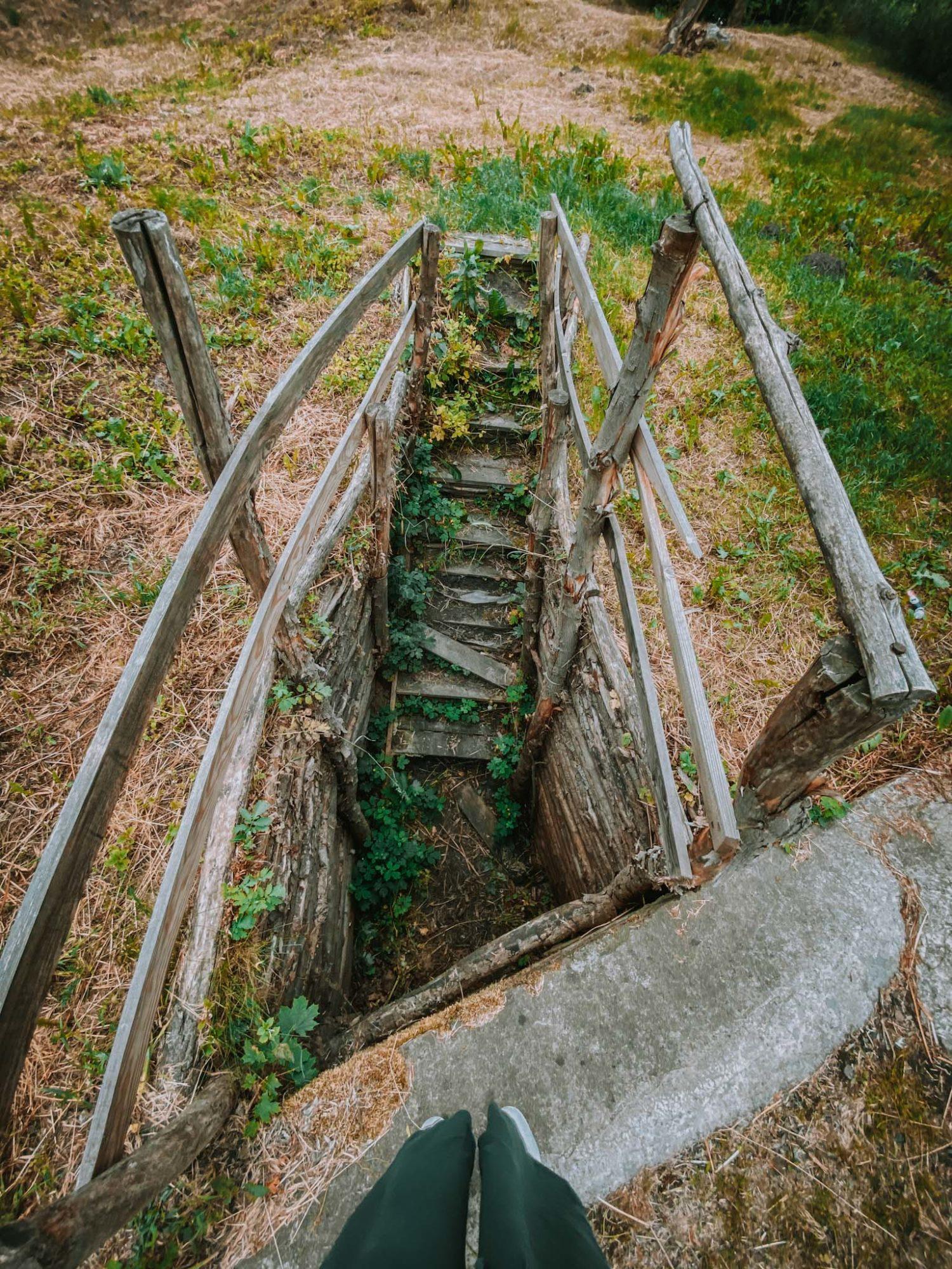 góra zamkowa w wyszogrodzie ruiny zamku niedaleko warszawy
