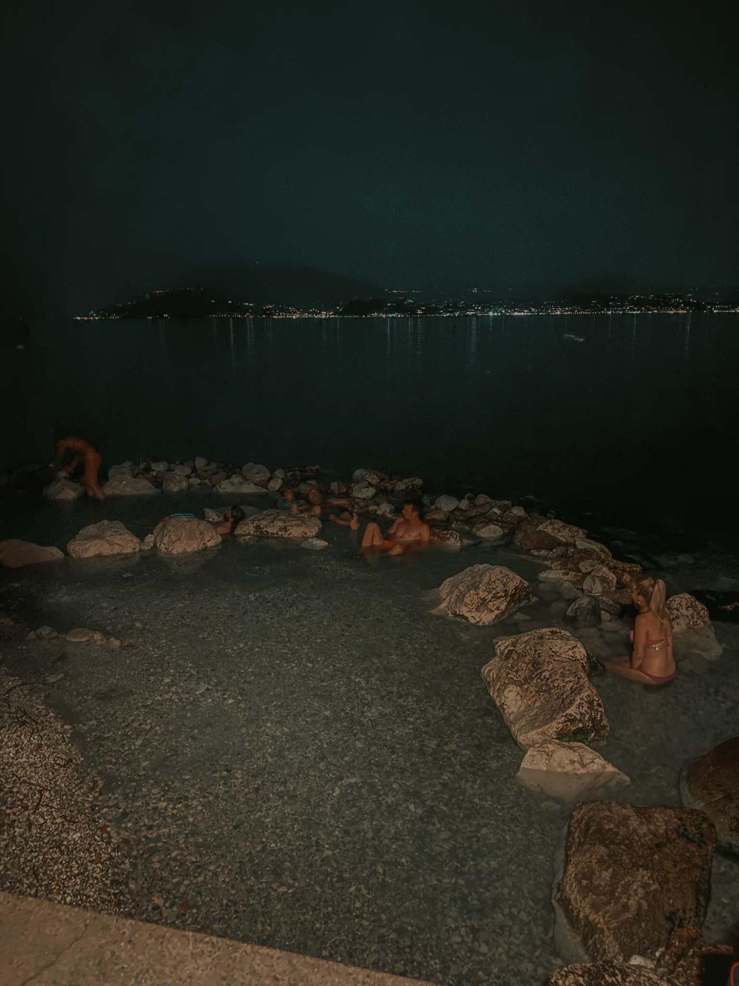 gorące, darmowe, źrodła, termy sirmione jezioro garda neverendingtravel