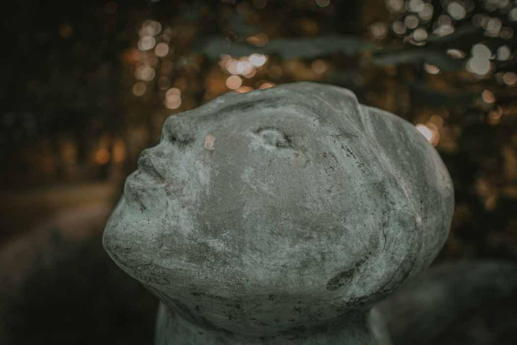 syrena juan soriano, głowa, rzeźba