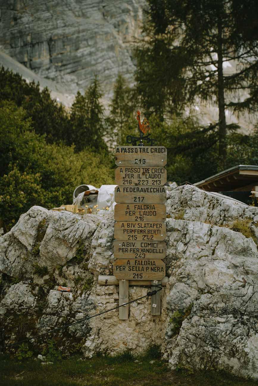 nazwy szlaków w Alpach