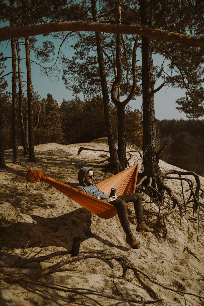 góry chobockie wydma śródlądowa biała góra na jeden dzień z warszawy wypad na weekend ciekawe miejsce na mazowszu nietypowe