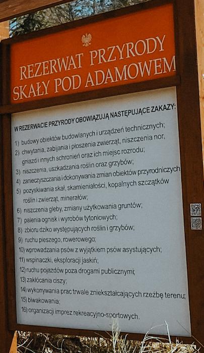 rezerwat Skały pod Adamowem, świętokrzyskie, ciekawe miejsce w Polsce, gdzie na weekend, góry świętkokrzyskie, wypad z warszawy, na jeden dzień wycieczka, regulamin