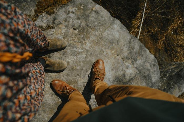 blundstone buty, stylizacja, spery, trekking